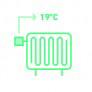 Thermostatische radiatorkranen